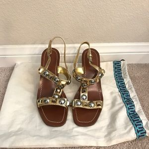 Wore Once Tory Burch Natalia Sandals Size 7